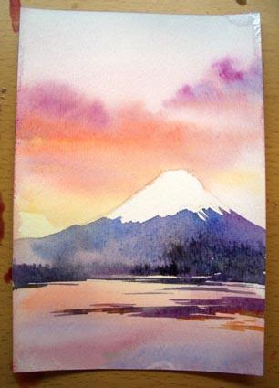 富士山を描く_f0176370_18544239.jpg