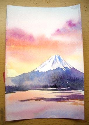富士山を描く_f0176370_185912.jpg