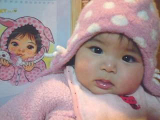 赤ちゃんの似顔絵描いた_e0177207_13173038.jpg