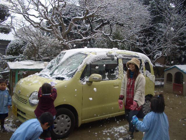 雪が降ったよ!!_c0107515_23363571.jpg