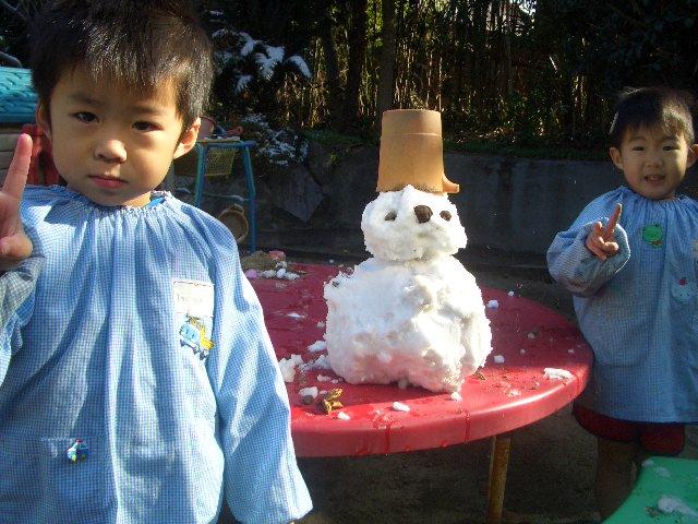 雪が降ったよ!!_c0107515_233849100.jpg