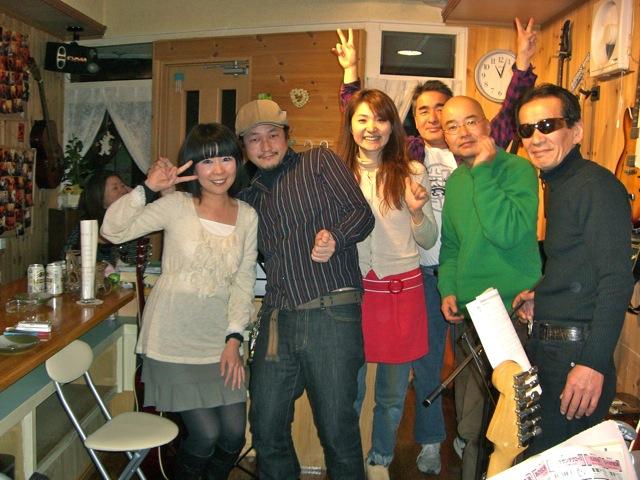 大阪レコーディング〜京都ライブ・音楽&幸福の日々_d0052485_16293377.jpg