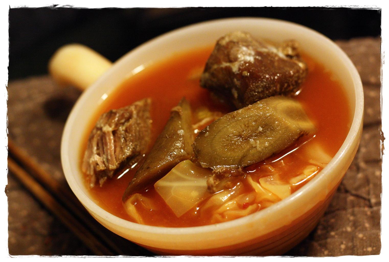 角煮キムチスープ_f0021101_1341810.jpg