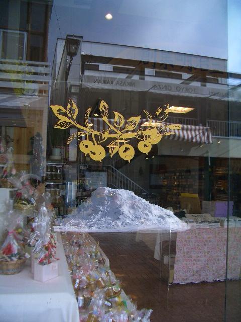 旧軽井沢の町中の雪_f0091207_2249225.jpg