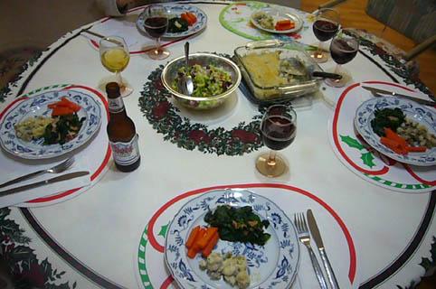 grand ma\'s X\'mas dinner._c0153966_22212822.jpg
