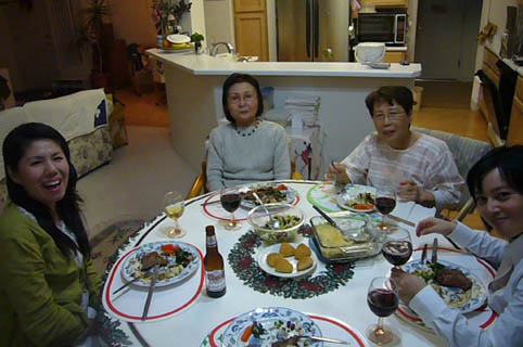 grand ma\'s X\'mas dinner._c0153966_22262328.jpg