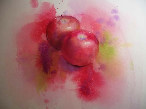 練習 りんご 後半_f0176370_15431164.jpg