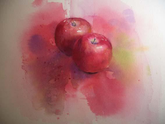 練習 りんご 後半_f0176370_1547511.jpg