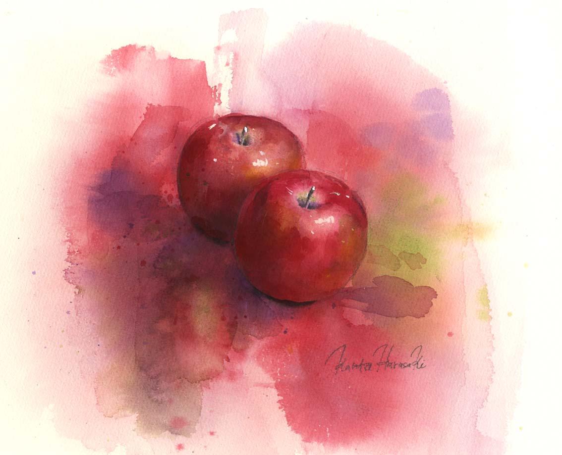 練習 りんご 後半_f0176370_15485212.jpg
