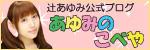 辻あゆみ公式ブログ『あゆみのこべや』
