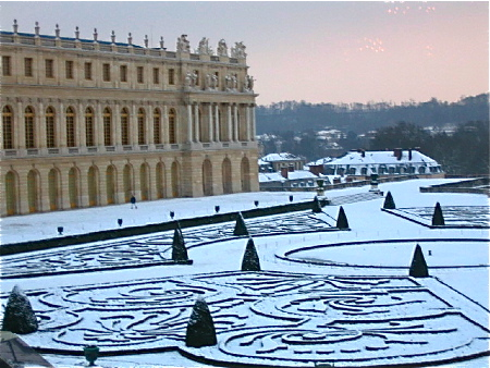 ヴェルサイユの雪、ニースの雨_b0041912_1305764.jpg