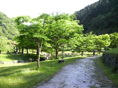 犬鳴きダム(司書の湖)の奥に、こんなキレイな公園が。_e0188087_1425481.jpg