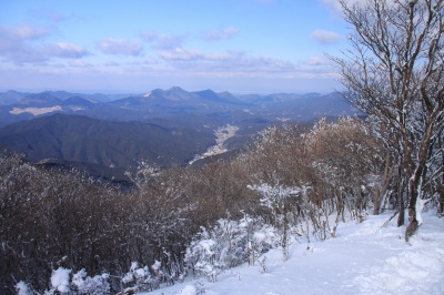 霧氷の三峰山 1235m 奈良県_d0055236_21439100.jpg