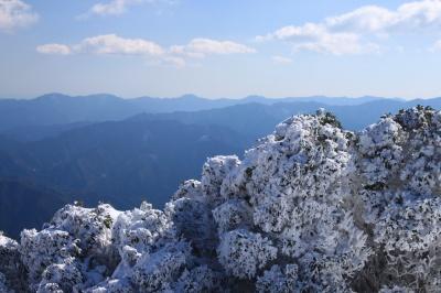 霧氷の三峰山 1235m 奈良県_d0055236_2154873.jpg