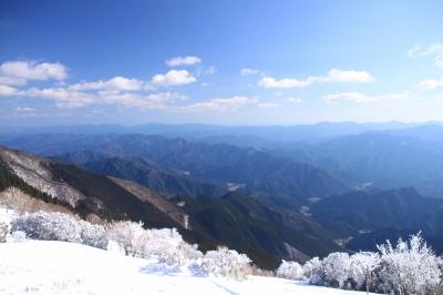 霧氷の三峰山 1235m 奈良県_d0055236_2173473.jpg