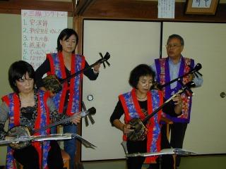 三線コンサート<アクティブライフ中町倶楽部>_c0107602_15351347.jpg