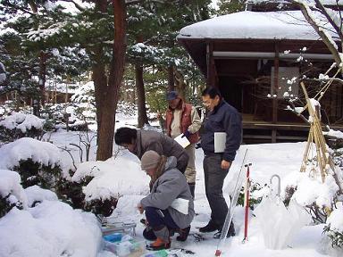 冬の新発田川   清水園_e0135219_943861.jpg