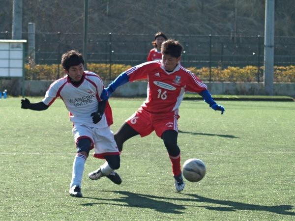 練習試合vs早稲田ユナイテッド_a0109270_8462037.jpg