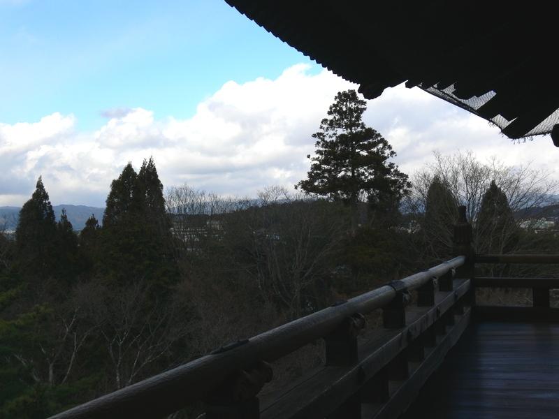 「京都・冬の旅・南禅寺三門」_d0133024_1012433.jpg