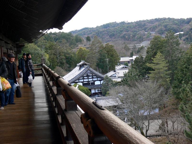 「京都・冬の旅・南禅寺三門」_d0133024_1021460.jpg