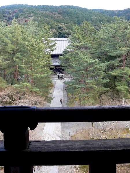 「京都・冬の旅・南禅寺三門」_d0133024_1035097.jpg