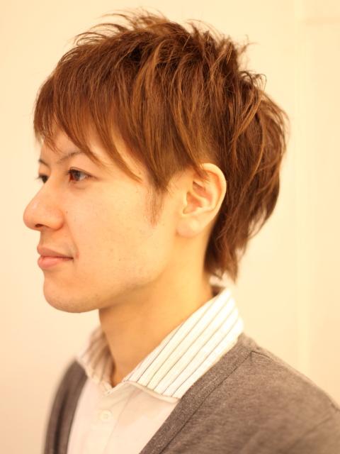 最新のヘアスタイル 男子 髪型 アシメ : ツーブロック : 今流行りの髪型 ...