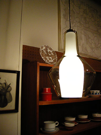Pendant light (DENMARK) & お知らせ_c0139773_18422857.jpg
