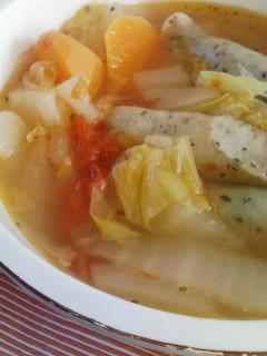 白菜のミネストローネ_f0112873_0321469.jpg