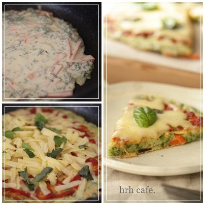 体も喜ぶ、しあわせ米粉でもっちり野菜ピザ♪_b0165178_8324277.jpg