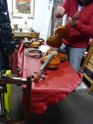 バイオリンのピックアップ出力・・・接続部の問題点。_e0188087_2311877.jpg