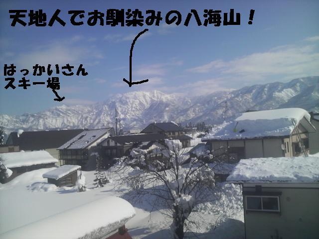 雪下ろし!! がんばりすぎた・・・。_a0128408_8165174.jpg