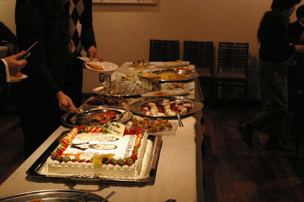 ボンヴィラージュ20周年&ボンヴィラージュオゼ5周年記念パーティ♪_b0077531_0182932.jpg