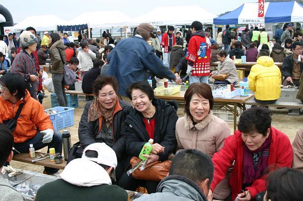 第3回安浦かき祭り(*≧▽≦)bb _e0175370_13473128.jpg