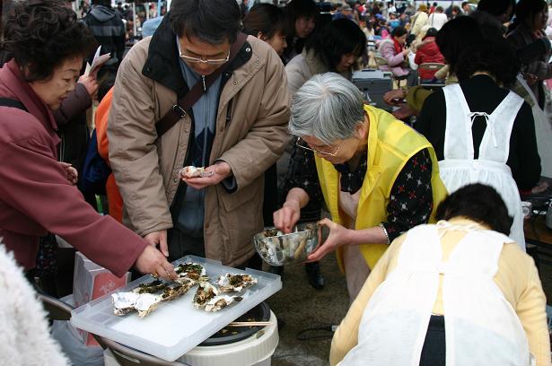 第3回安浦かき祭り(*≧▽≦)bb _e0175370_13481951.jpg