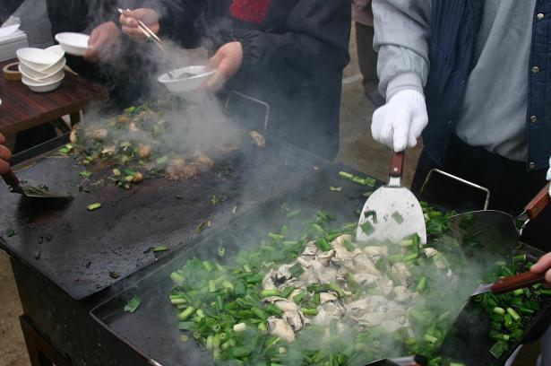 第3回安浦かき祭り(*≧▽≦)bb _e0175370_13483652.jpg