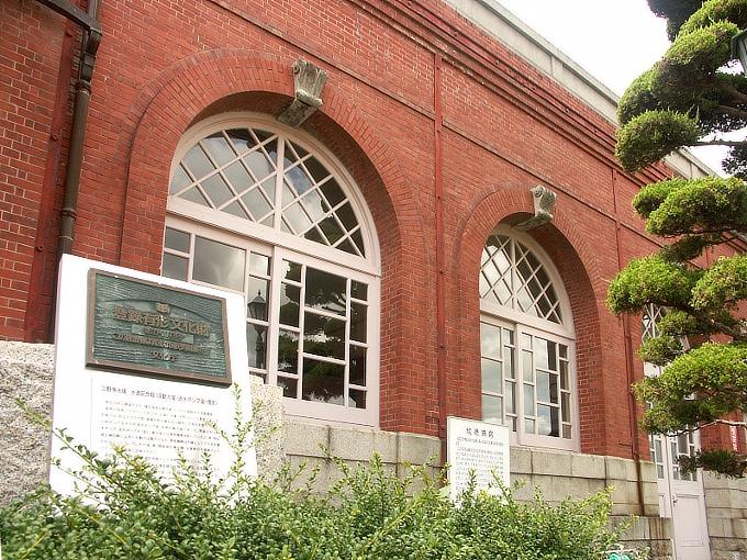 岡山市水道記念館(旧三野浄水場送水ポンプ室)_f0116479_2132013.jpg