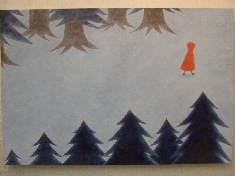 1166) ②時計台 「第4回 にかわえ展」・日本画 終了・1月12日(月)~1月17日(土) _f0126829_2020736.jpg