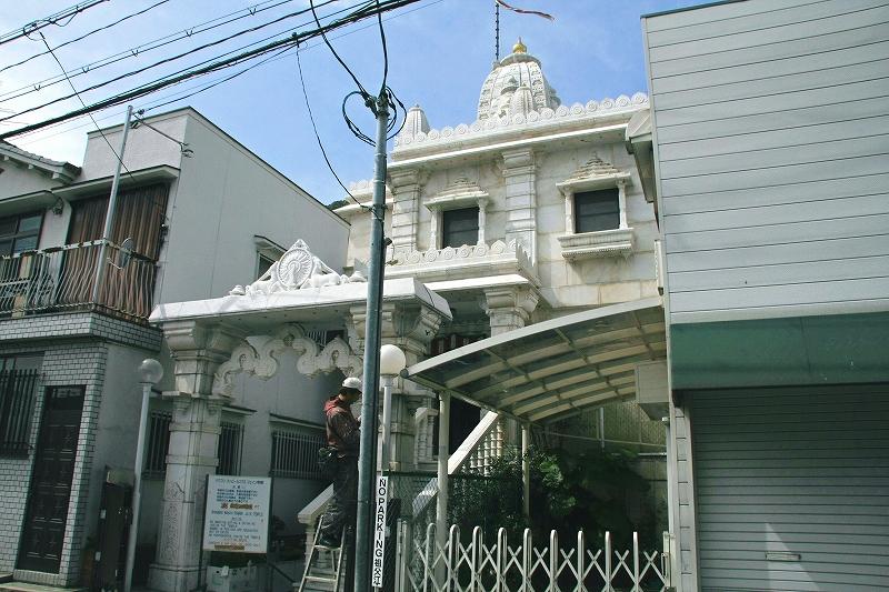 神戸 バグワン・マハビールスワミ・ジェイン寺院(舌を噛みそうです)と神戸ハリストス教会_c0196076_20571319.jpg
