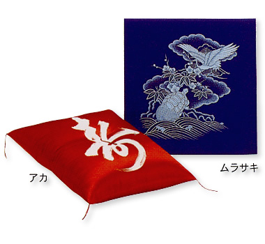結婚式に祖父母への感謝のプレゼントとして赤の座布団を希望しているのですが_d0063392_18321542.jpg