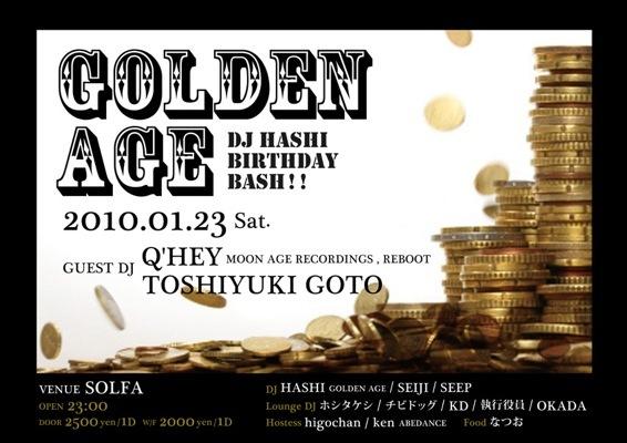 GOLDEN AGE  - DJ HASHI BIRTHDAY BASH!! -_c0222907_14232452.jpg