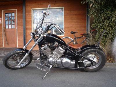 本日のバイク!!_f0194657_1503817.jpg