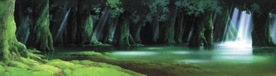 トトロの森を描いた人。-男鹿和雄展_b0165872_23465222.jpg