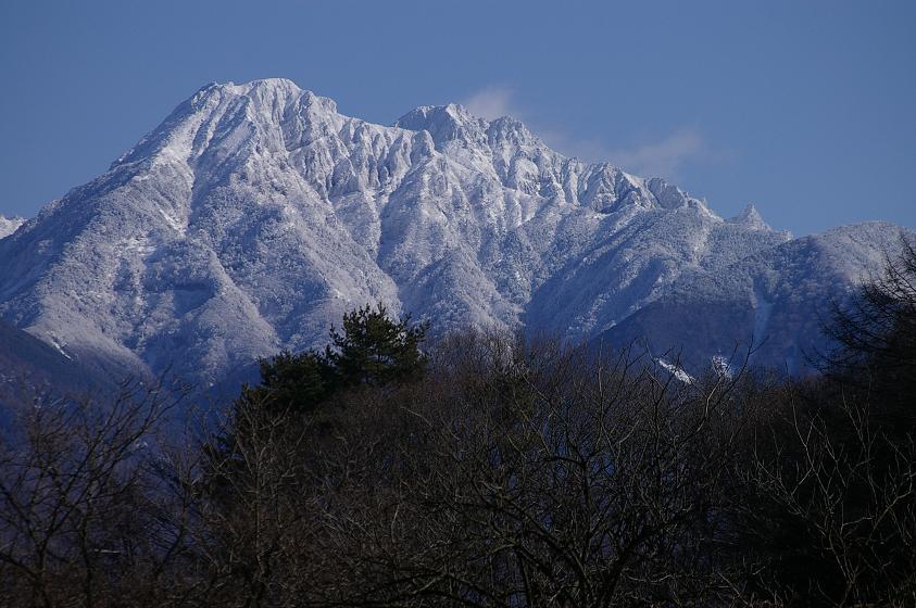 阿弥陀岳冬景色。_f0163491_2103367.jpg