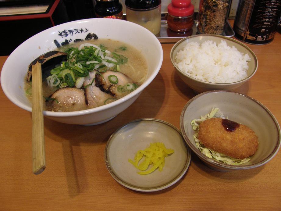 博多ラーメンげんこつ 川西店_c0118393_913542.jpg