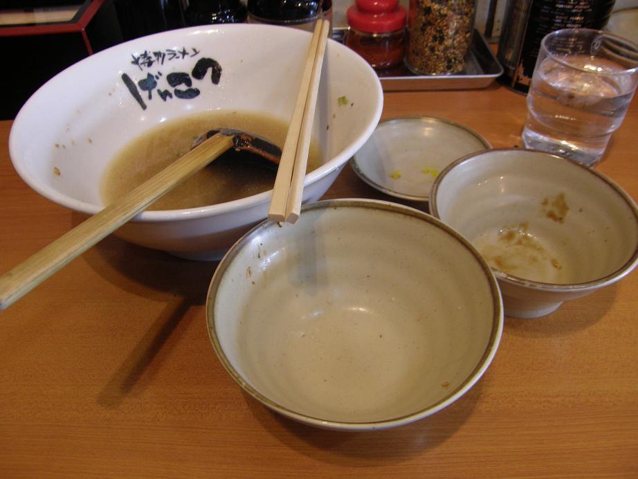 博多ラーメンげんこつ 川西店_c0118393_928563.jpg