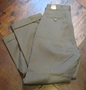 50'S LIONーBILT WORK PANTS!W32 デッドストック_c0144020_13141862.jpg