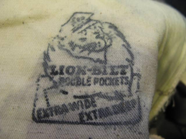 50'S LIONーBILT WORK PANTS!W32 デッドストック_c0144020_13145878.jpg