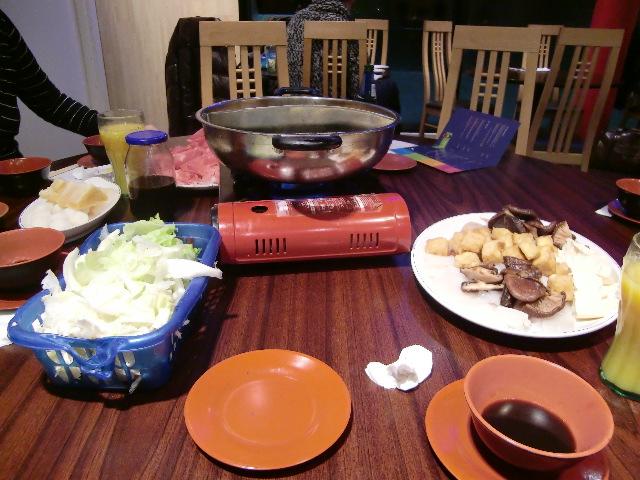 日本人妻の会 火鍋で新年宴会_c0027188_136201.jpg