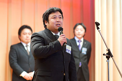 2010年度 新年会「最初の晩餐~Welcome to ofunatoJC!~」_e0075103_23353916.jpg