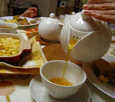 1月24日(日) 紅茶に合わせて美味しいたべもの。_d0138307_12515310.jpg